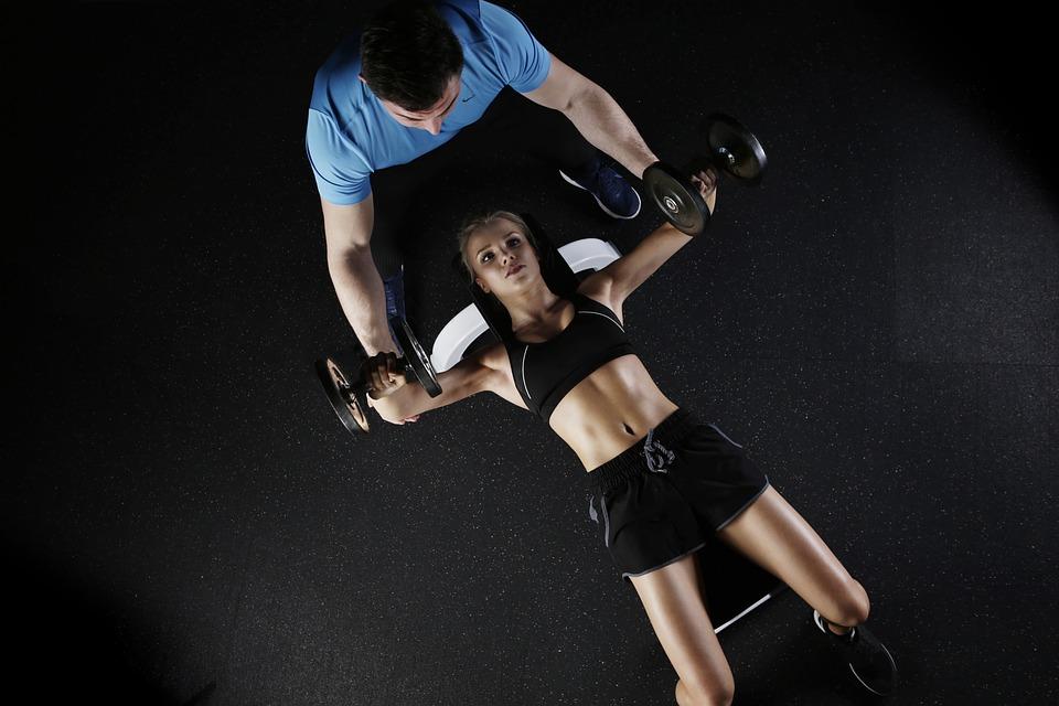 Personal Training mit Klientin